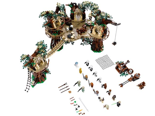 LEGO 10236 - LEGO Star Wars Exclusive - Ewok falu
