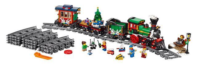 LEGO 10254 - LEGO Exclusive - Téli ünnepi kisvasút