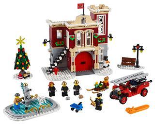 LEGO 10263 - LEGO Creator - Téli tűzoltóállomás