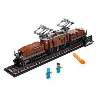 LEGO 10277 - LEGO Creator - Krokodil lokomotív