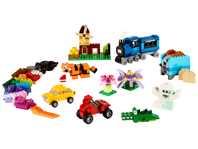 LEGO 10696 - LEGO Classic - Közepes méretű kreatív építőelemek