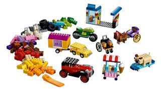 LEGO 10715 - LEGO Classic - Kockák és kerekek