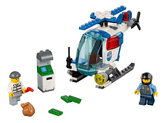 LEGO 10720 - LEGO Juniors - Rendőrségi helikopteres rajtaütés