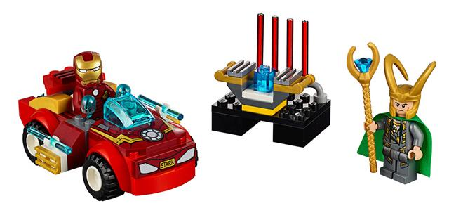 LEGO 10721 - LEGO Juniors - Vasember Loki ellen