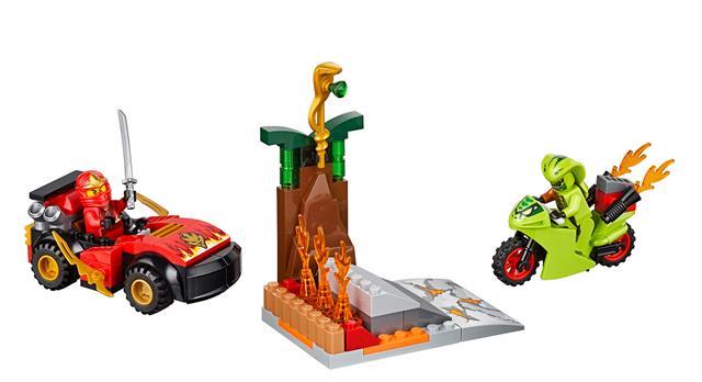 LEGO 10722 - LEGO Juniors - Leszámolás a kígyóval