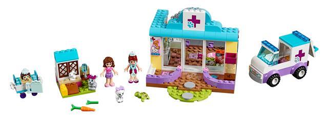 LEGO 10728 - LEGO Juniors - Mia állatkórháza