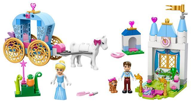 LEGO 10729 - LEGO Juniors - Hamupipőke hintója
