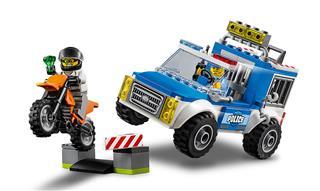 LEGO 10735 - LEGO Juniors - Rendőrségi terepjárós üldözés