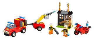 LEGO 10740 - LEGO Juniors - Tűzoltó járőr játékbőrönd