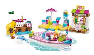 LEGO 10747 - LEGO Juniors - Andrea és Stephanie tengerparti nyara...