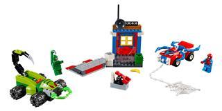 LEGO 10754 - LEGO Juniors - Pókember és Skorpió utcai leszámolása