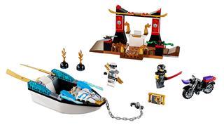 LEGO 10755 - LEGO Juniors - Zane nindzsahajós üldözése