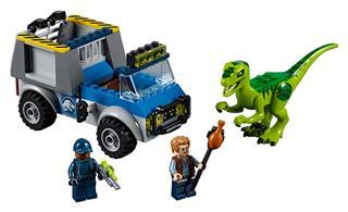 LEGO 10757 - LEGO Juniors - Raptormentő teherautó