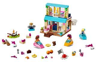 LEGO 10763 - LEGO Juniors - Stephanie tóparti háza