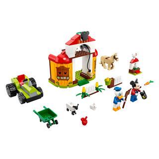 LEGO 10775 - LEGO Disney - Mickey egér és Donald kacsa farmja