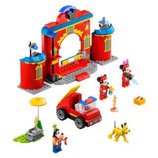 LEGO 10776 - LEGO Disney - Mickey egér és barátai tűzoltóság