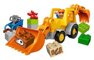 LEGO 10811 - LEGO DUPLO - Árokásó rakodó