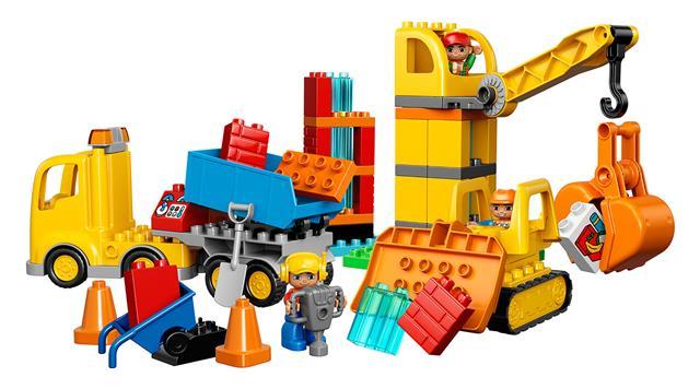 LEGO 10813 - LEGO DUPLO - Nagy építkezés
