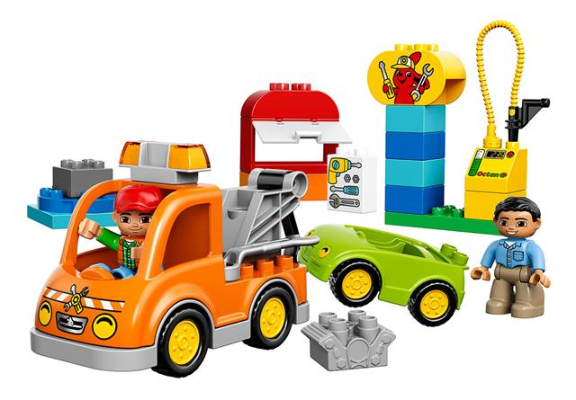 LEGO 10814 - LEGO DUPLO - Vontató