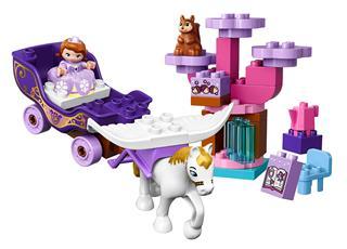 LEGO 10822 - LEGO DUPLO - Szófia hercegnő varázslatos hintója