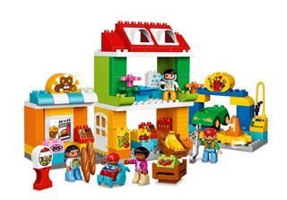 LEGO 10836 - LEGO DUPLO - Kisvárosi tér