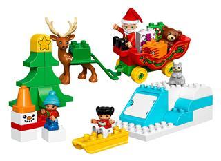 LEGO 10837 - LEGO DUPLO - Mikulás téli ünnepe