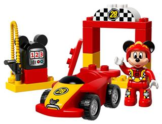 LEGO 10843 - LEGO DUPLO - Mickey versenyautója