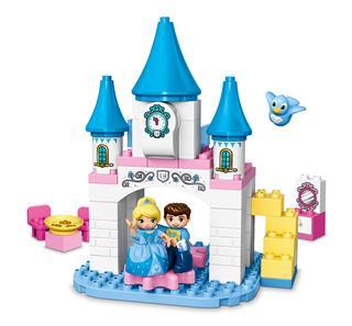 LEGO 10855 - LEGO DUPLO - Hamupipőke varázslatos kastélya