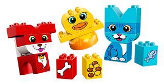 LEGO 10858 - LEGO DUPLO - Első házikedvencek kirakóm