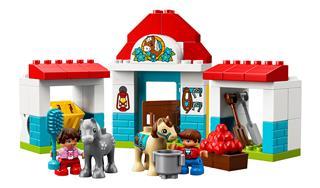 LEGO 10868 - LEGO DUPLO - Póni istálló
