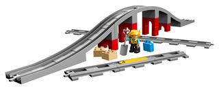 LEGO 10872 - LEGO DUPLO - Vasúti híd és sínek
