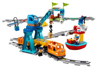 LEGO 10875 - LEGO DUPLO - Tehervonat