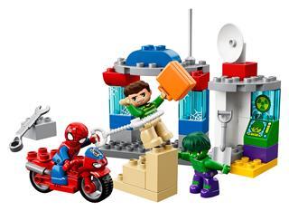 LEGO 10876 - LEGO DUPLO - Pókember és Hulk kalandjai