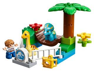 LEGO 10879 - LEGO DUPLO - Szelíd óriások állatkerti simogatója