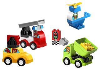 LEGO 10886 - LEGO DUPLO - Első Autós Alkotásaim
