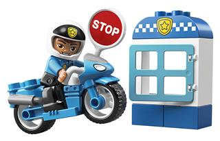 LEGO 10900 - LEGO DUPLO - Rendõrségi motor