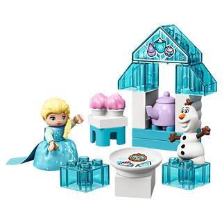 LEGO 10920 - LEGO DUPLO - Elsa és Olaf teapartija