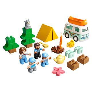 LEGO 10946 - LEGO DUPLO - Családi lakóautós kalandok
