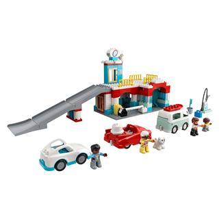 LEGO 10948 - LEGO DUPLO - Parkolóház és autómosó