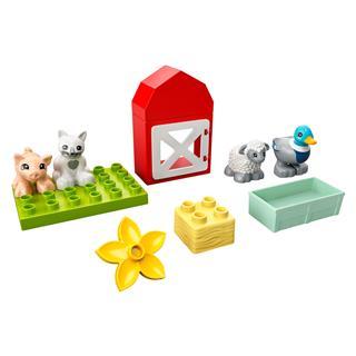 LEGO 10949 - LEGO DUPLO - Állatgondozás a farmon