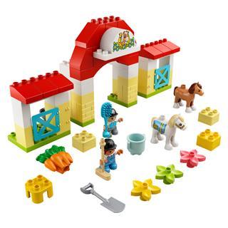 LEGO 10951 - LEGO DUPLO -  Lóistálló és pónigondozás