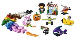 LEGO 11003 - LEGO Classic - Kockák és szemek