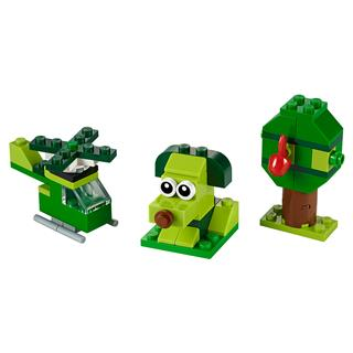 LEGO 11007 - LEGO Classic - Kreatív zöld kockák