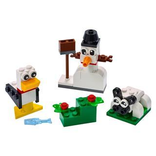 LEGO 11012 - LEGO Classic - Kreatív fehér kockák