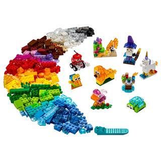 LEGO 11013 - LEGO Classic - Kreatív áttetsző kockák