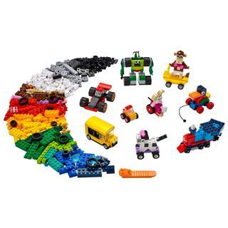 LEGO 11014 - LEGO Classic - Kockák és járművek