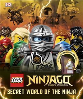 LEGO 14723 - LEGO NINJAGO könyv - Secret World of The Ninja