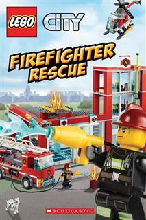 LEGO 15522 - LEGO City könyv - Firefighter rescue (angol)