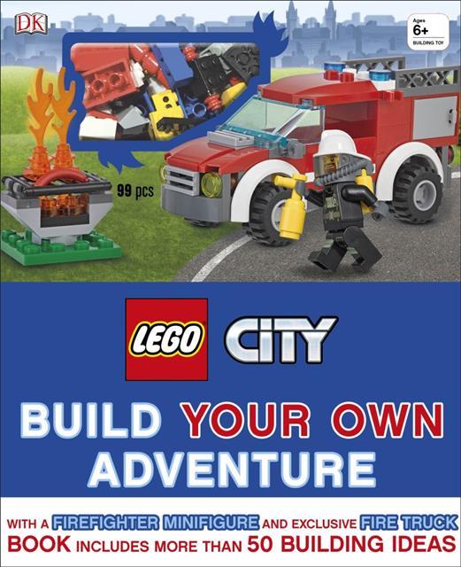 LEGO 15552 - LEGO City könyv - Build Your Own Adventure (angol)