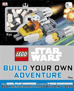 LEGO 15553 - LEGO Star Wars könyv - Build Your Own Adventure (angol)